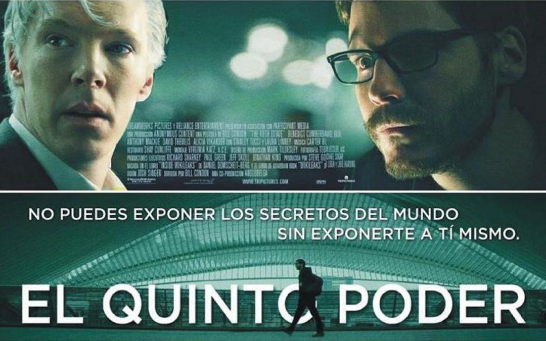 Cine foro: Discusión sobre la película El Quinto Poder. Barquisimeto