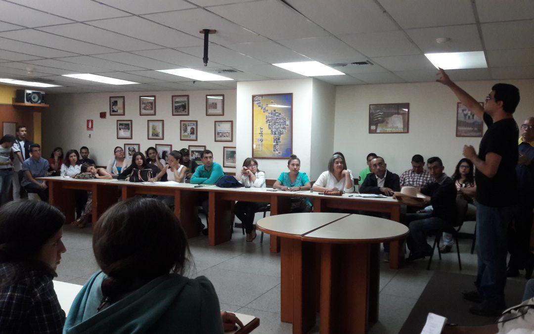 Taller. Informar(se) en Contingencia. Maracaibo