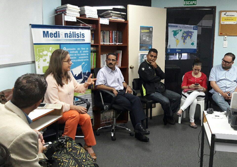 Charla. Los desafíos del periodismo hoy en Venezuela. Barquisimeto