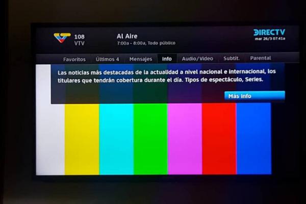 Justo cuando gana terreno el COVID-19 en Venezuela, se apaga la tele