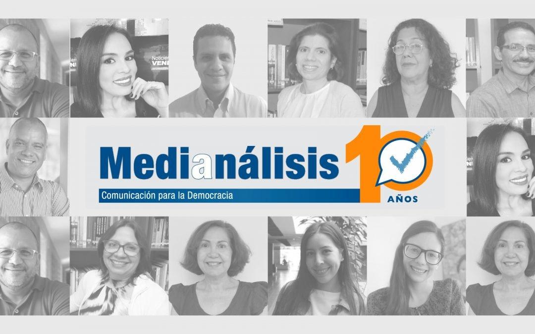 Medianálisis: una década de comunicación en desarrollo para la democracia