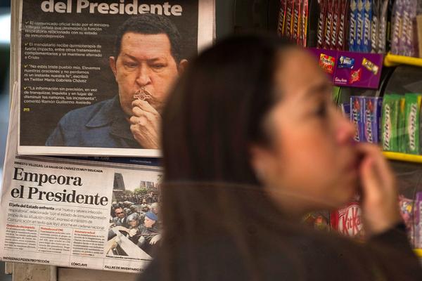 Censura bajo el régimen de Maduro (IV): La salud de Chávez como secreto de Estado