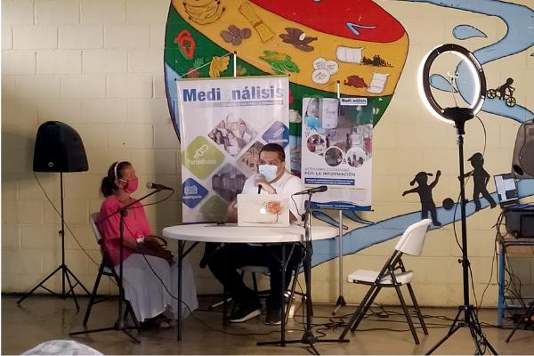 La radio comunal del proyecto Activismo Ciudadano por la Información visita al sector Padre Diego de Barquisimeto